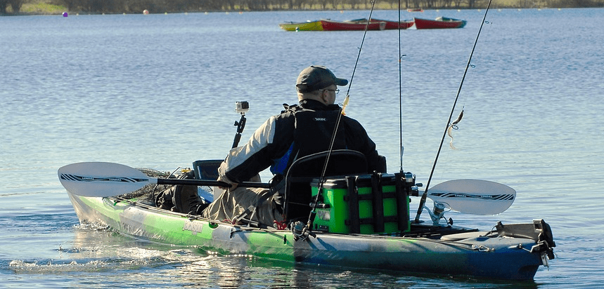 One of the best sit on top fishing kayaks.